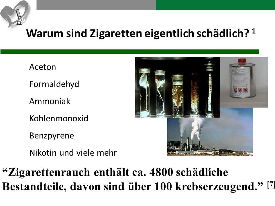 Warum sind Zigaretten eigentlich schädlich 1