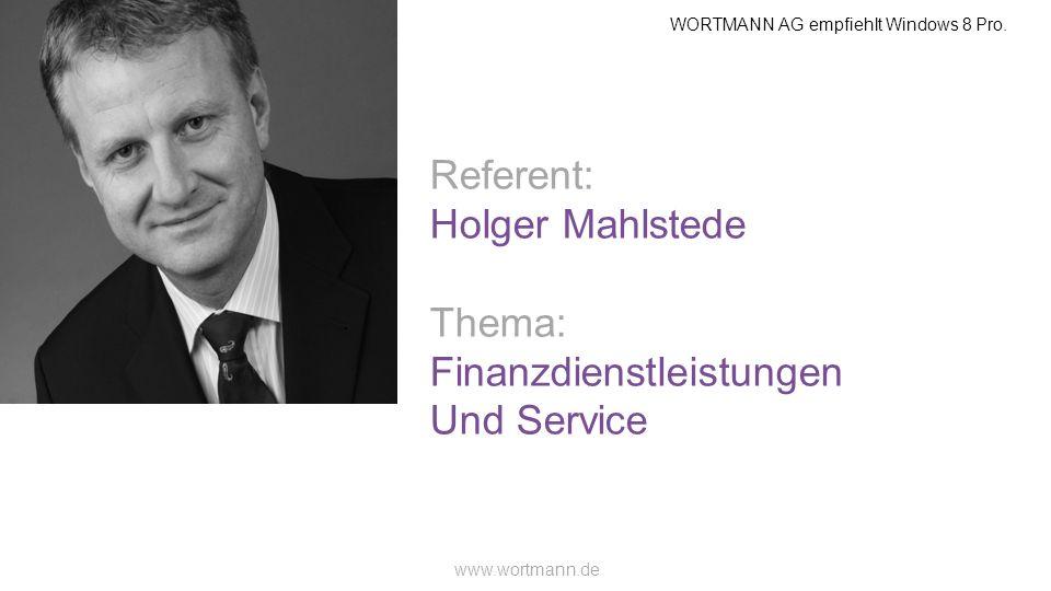 Finanzdienstleistungen Und Service