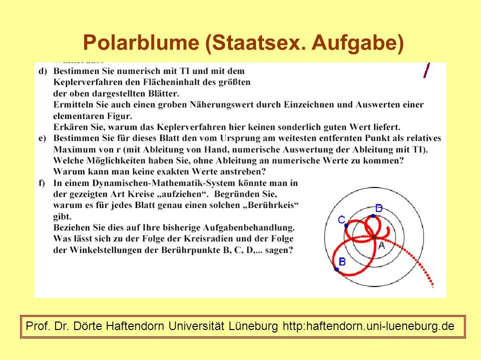 Polarblume (Staatsex. Aufgabe)
