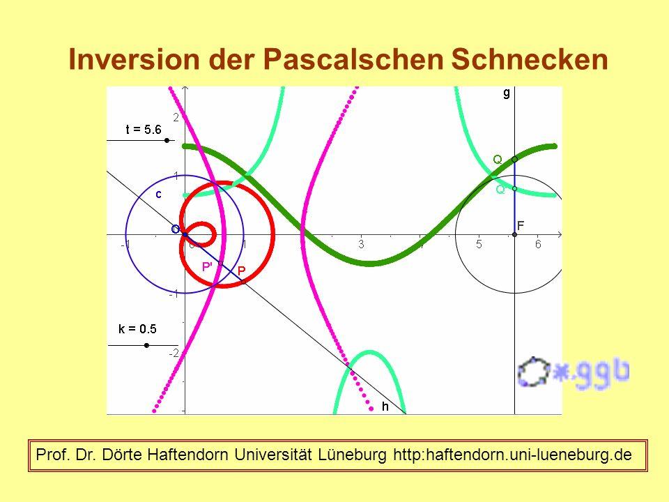 Inversion der Pascalschen Schnecken