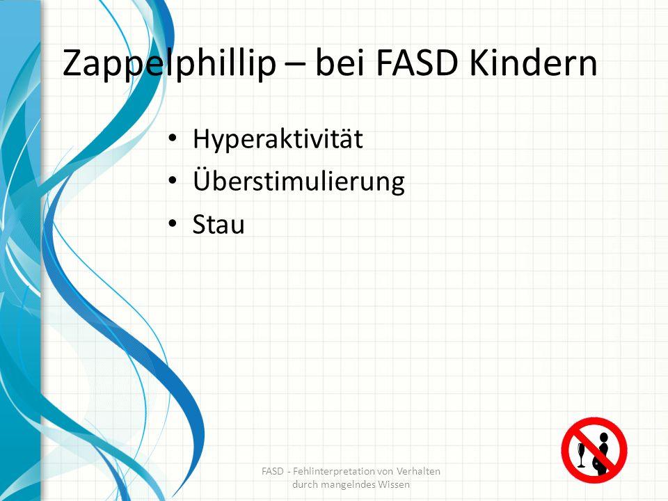 Zappelphillip – bei FASD Kindern