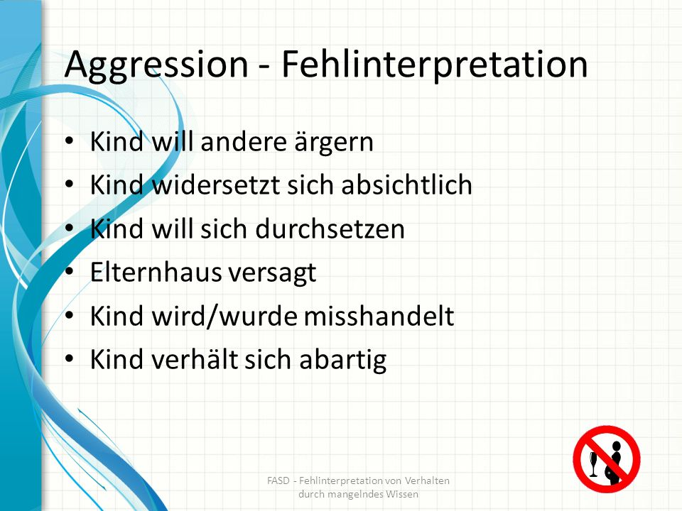 Aggression - Fehlinterpretation