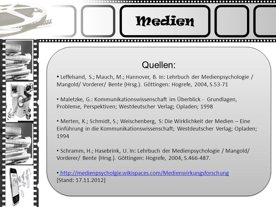 MedienQuellen: