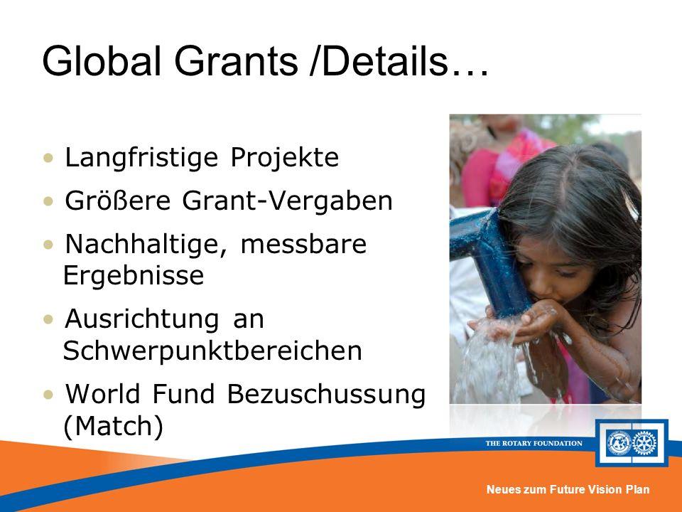 Global Grants /Details…