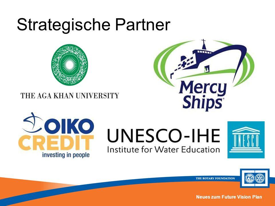 Strategische Partner Die Foundation entwickelt Packaged Grants mit ausgewählten strategischen Partnern. Dazu gehören bisher: