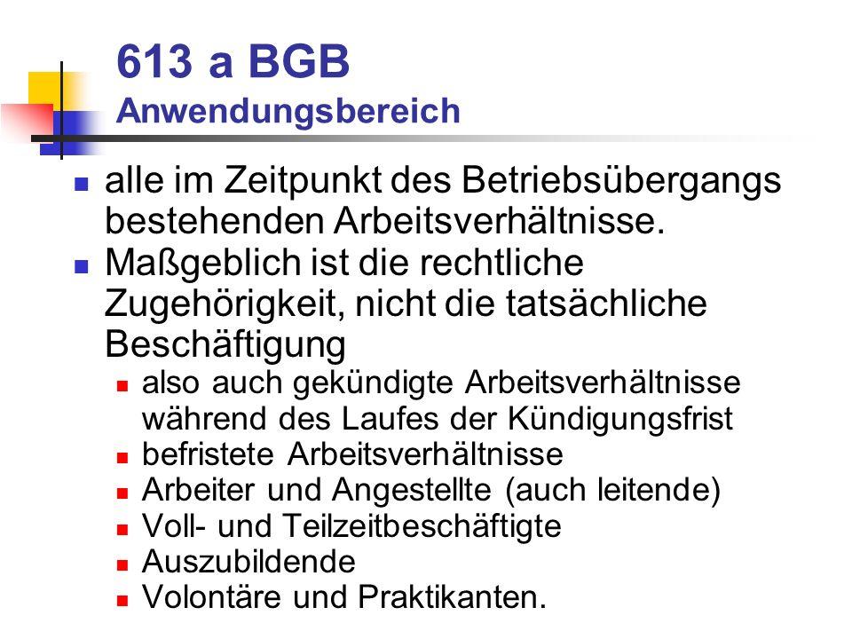 613 a BGB Anwendungsbereich