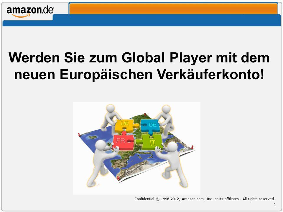Werden Sie zum Global Player mit dem neuen Europäischen Verkäuferkonto!