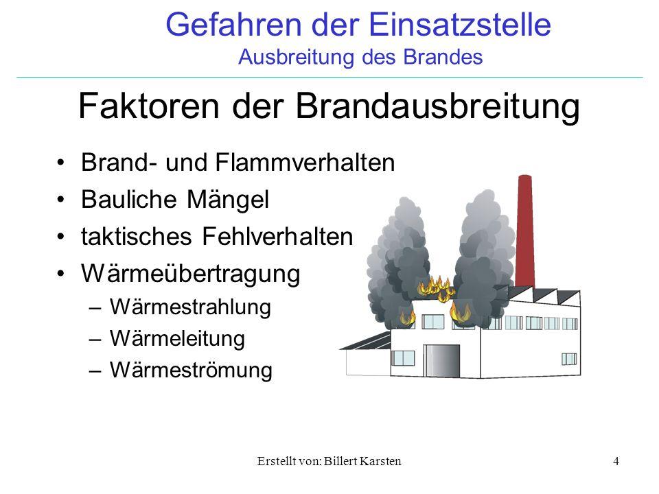 Faktoren der Brandausbreitung