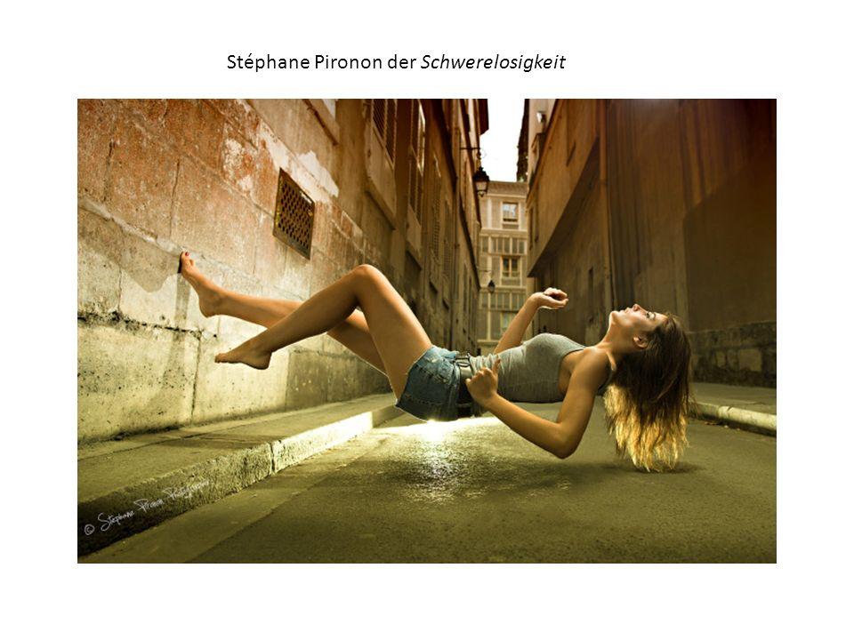 Stéphane Pironon der Schwerelosigkeit