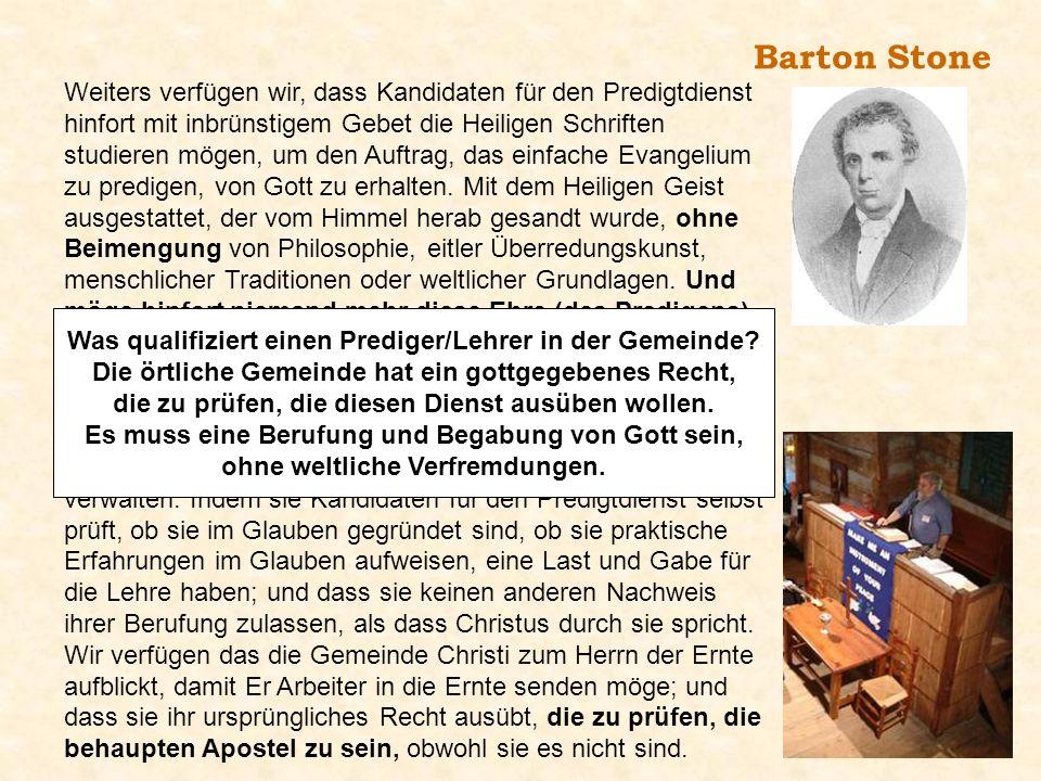 Barton Stone