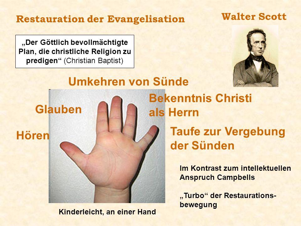 """""""Der Göttlich bevollmächtigte Plan, die christliche Religion zu"""