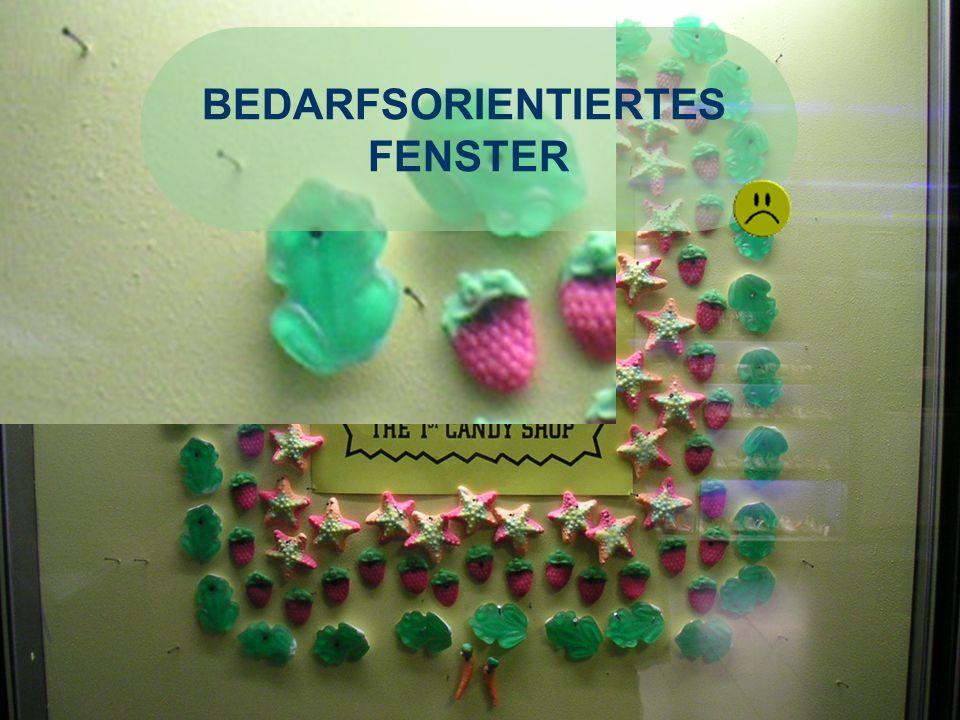 BEDARFSORIENTIERTES FENSTER