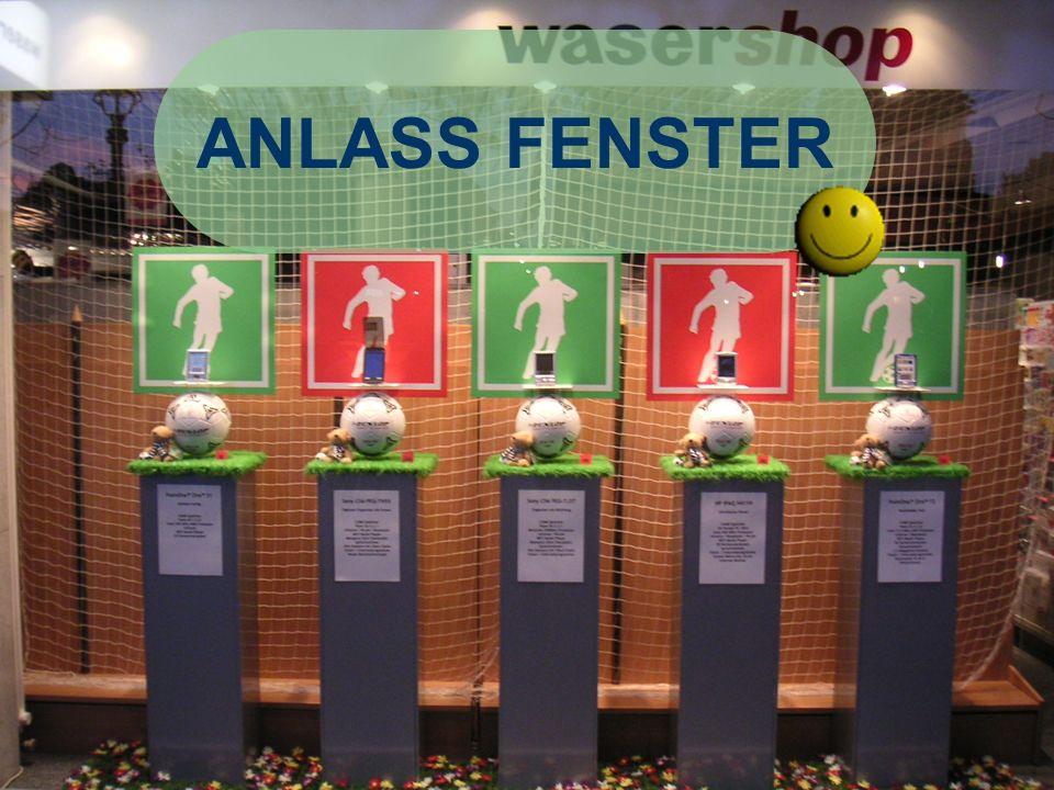 ANLASS FENSTER René Kilchsperger F. Hoti WASERSHOP Positiv: