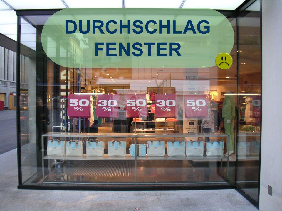 DURCHSCHLAG FENSTER René Kilchsperger Fatmir Positiv: