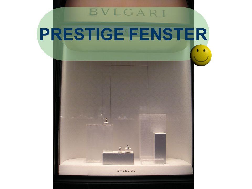 PRESTIGE FENSTER BVLGARI Präsentation durch F. Hoti Positves:
