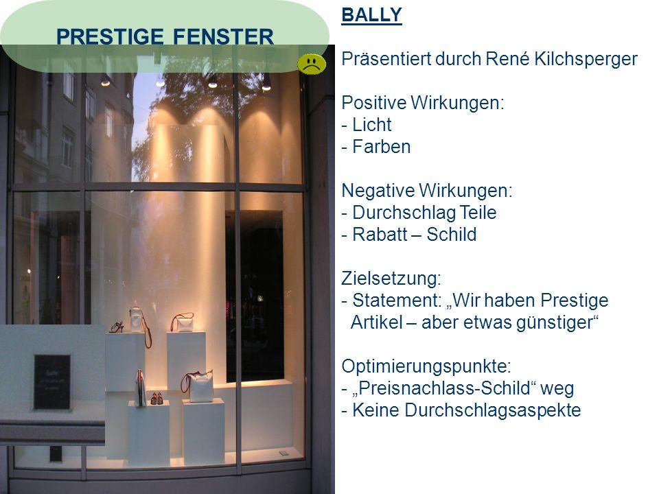 PRESTIGE FENSTER BALLY Präsentiert durch René Kilchsperger