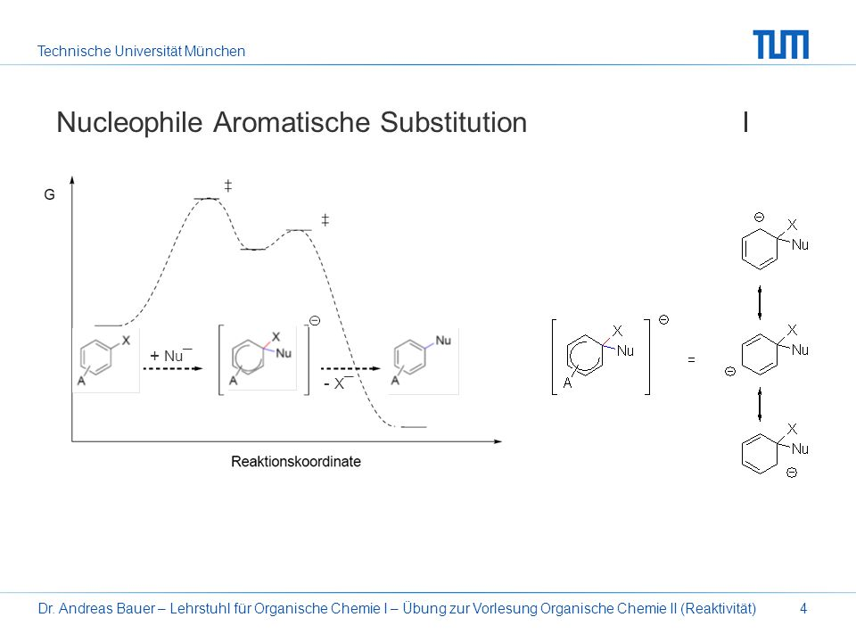 Nucleophile Aromatische Substitution I