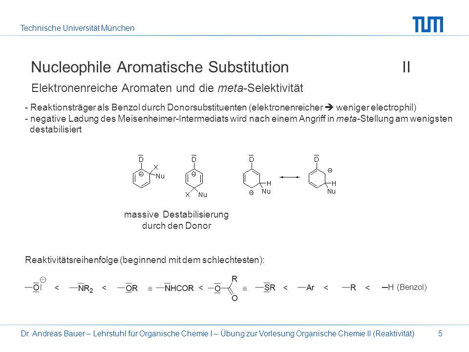 Nucleophile Aromatische Substitution II