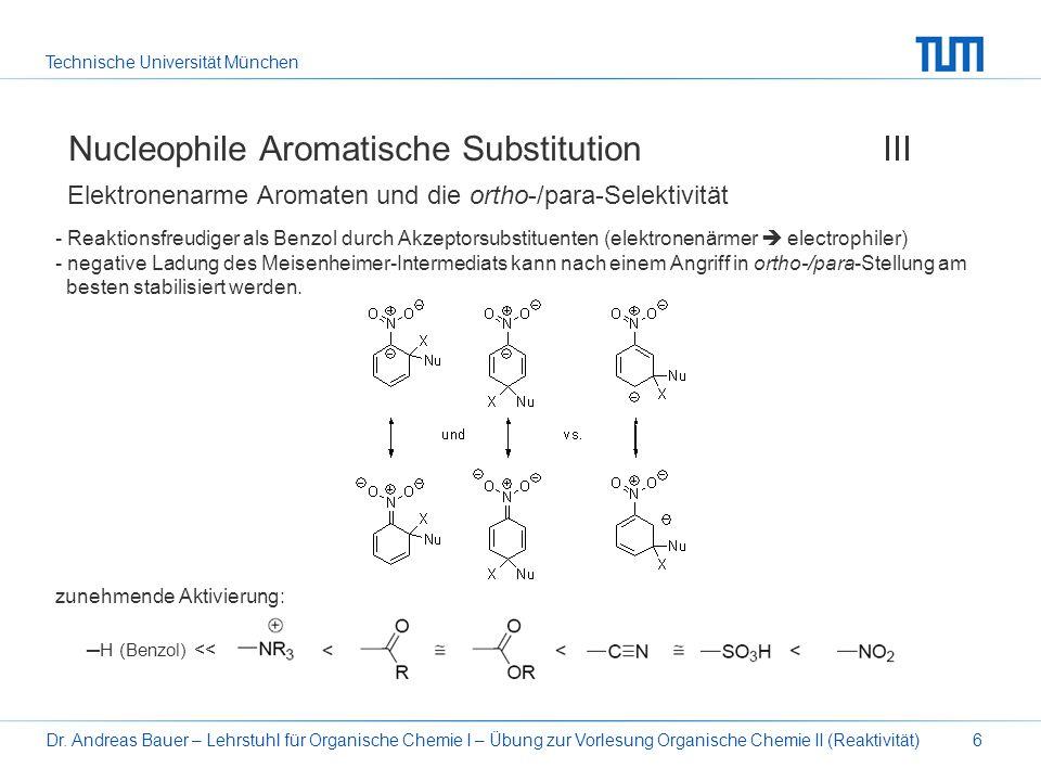 Nucleophile Aromatische Substitution III