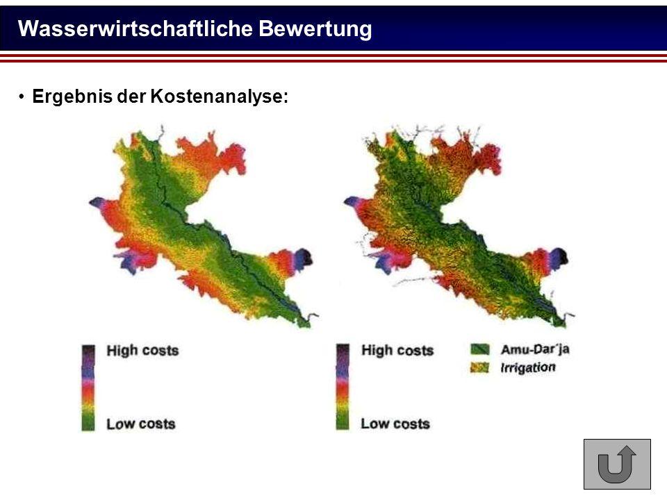 Wasserwirtschaftliche Bewertung
