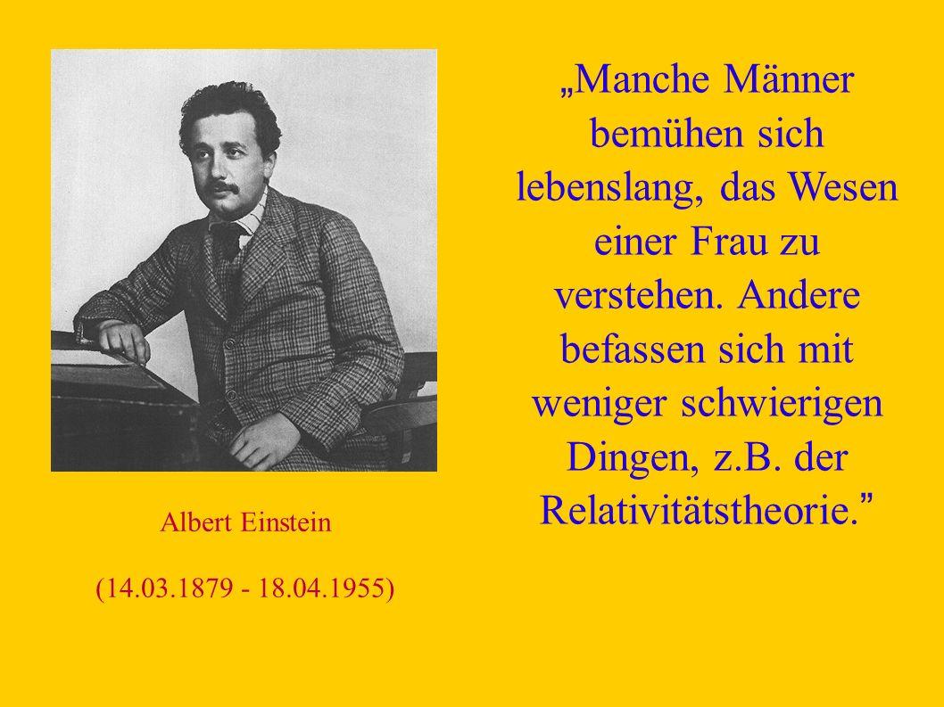 Relativitätstheorie.