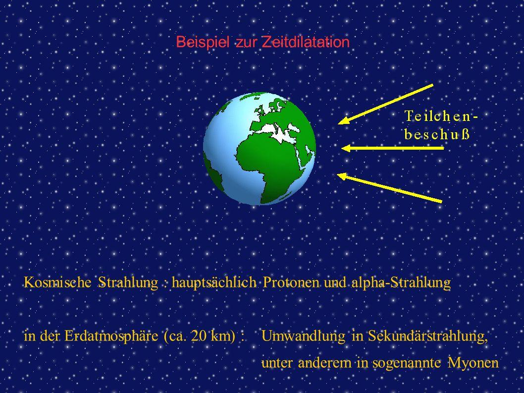 Beispiel zur Zeitdilatation