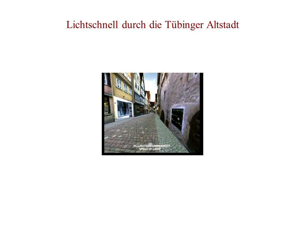 Lichtschnell durch die Tübinger Altstadt