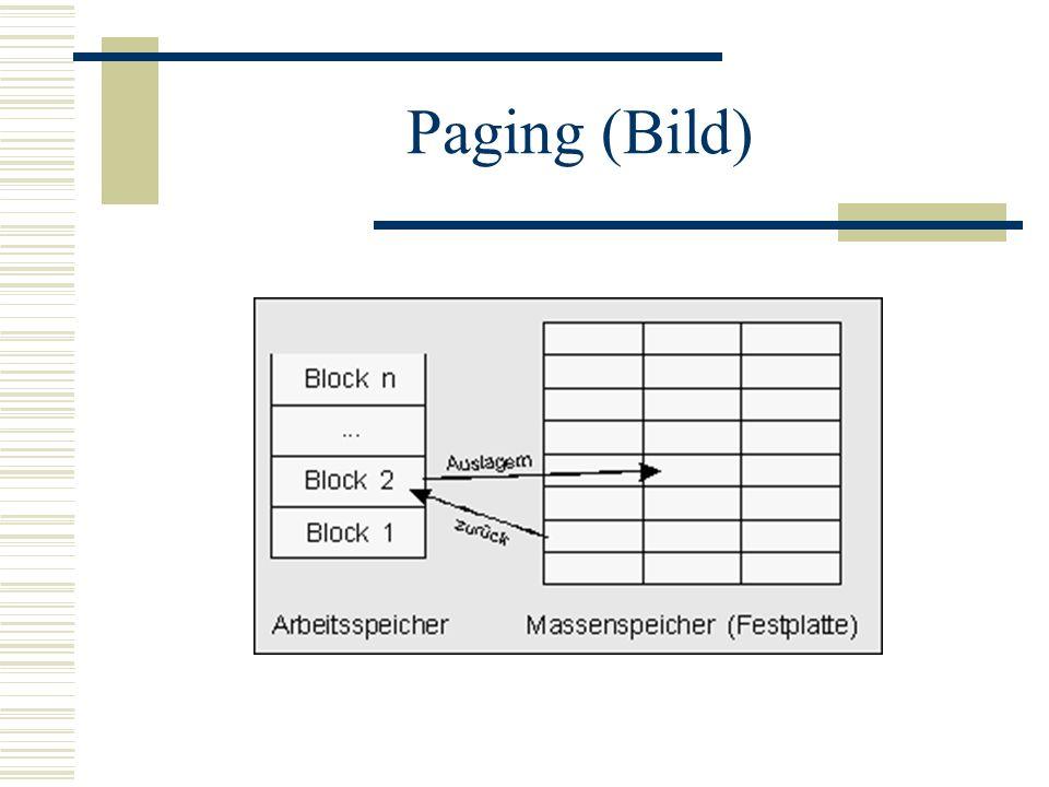 Paging (Bild)