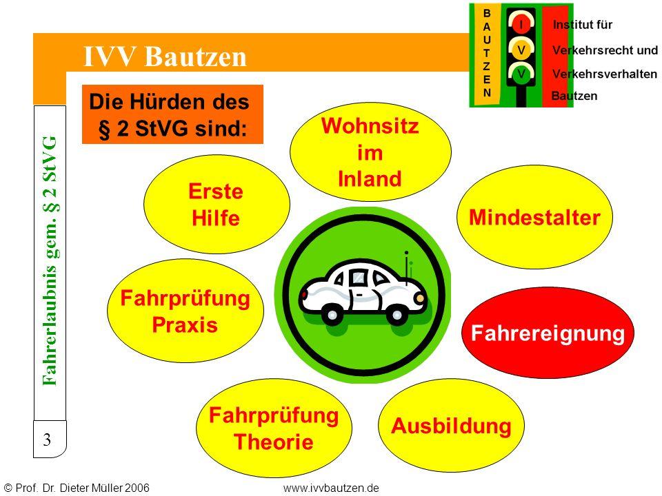Fahrerlaubnis gem. § 2 StVG