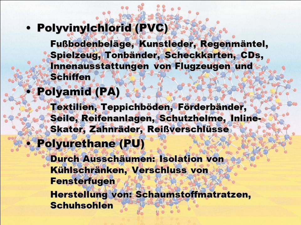 Polyvinylchlorid (PVC)