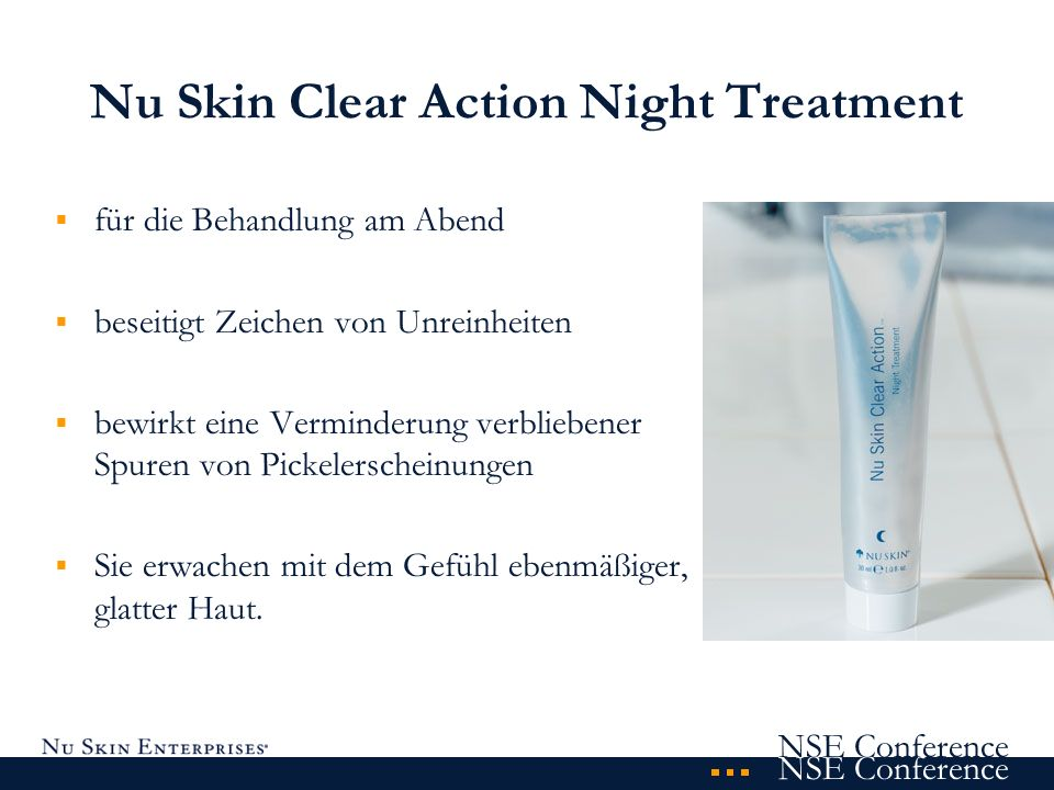 Nu Skin Clear Action Night Treatment
