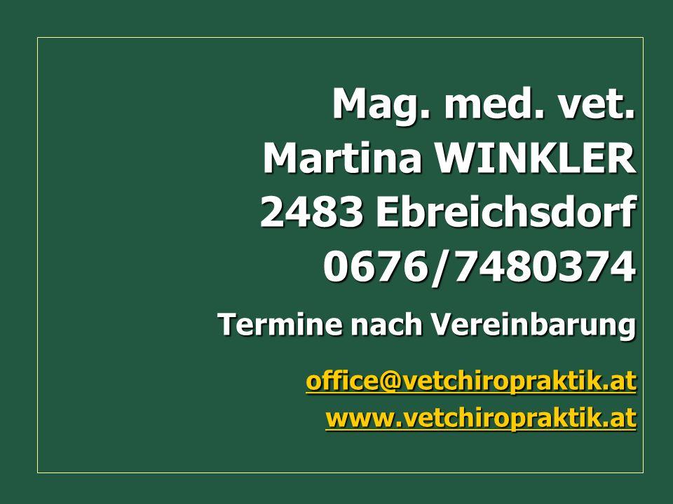 Martina WINKLER 2483 Ebreichsdorf 0676/7480374