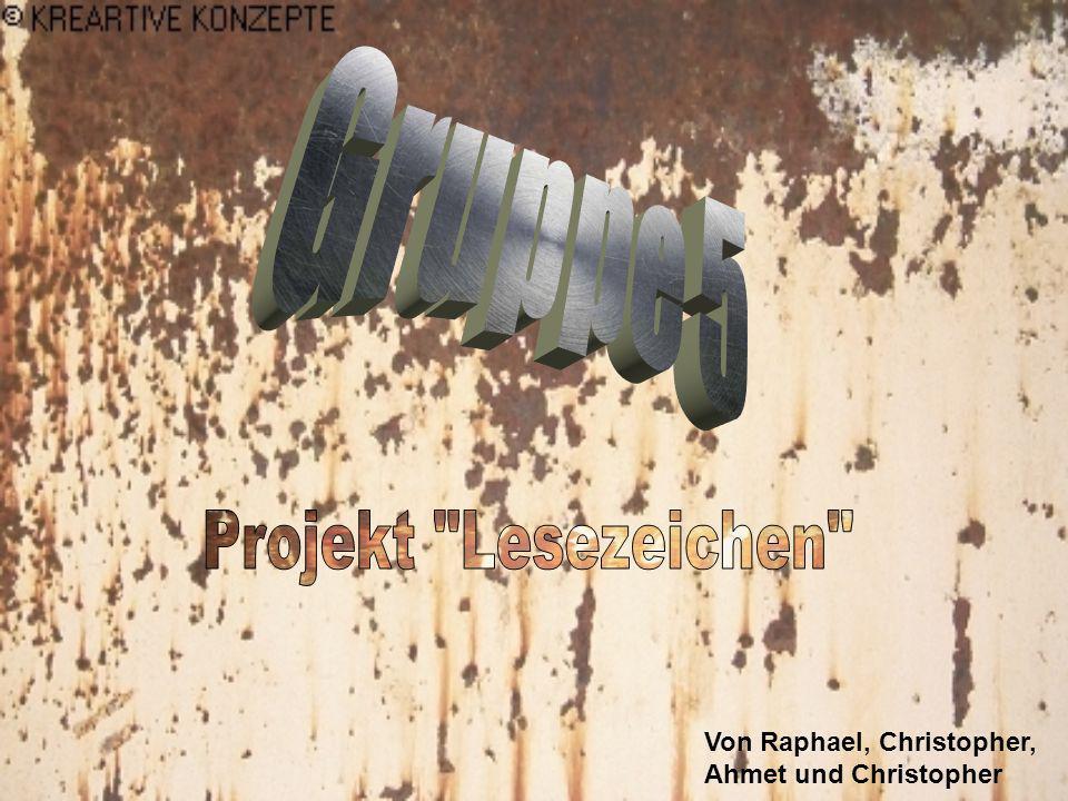 Gruppe 5 Projekt Lesezeichen