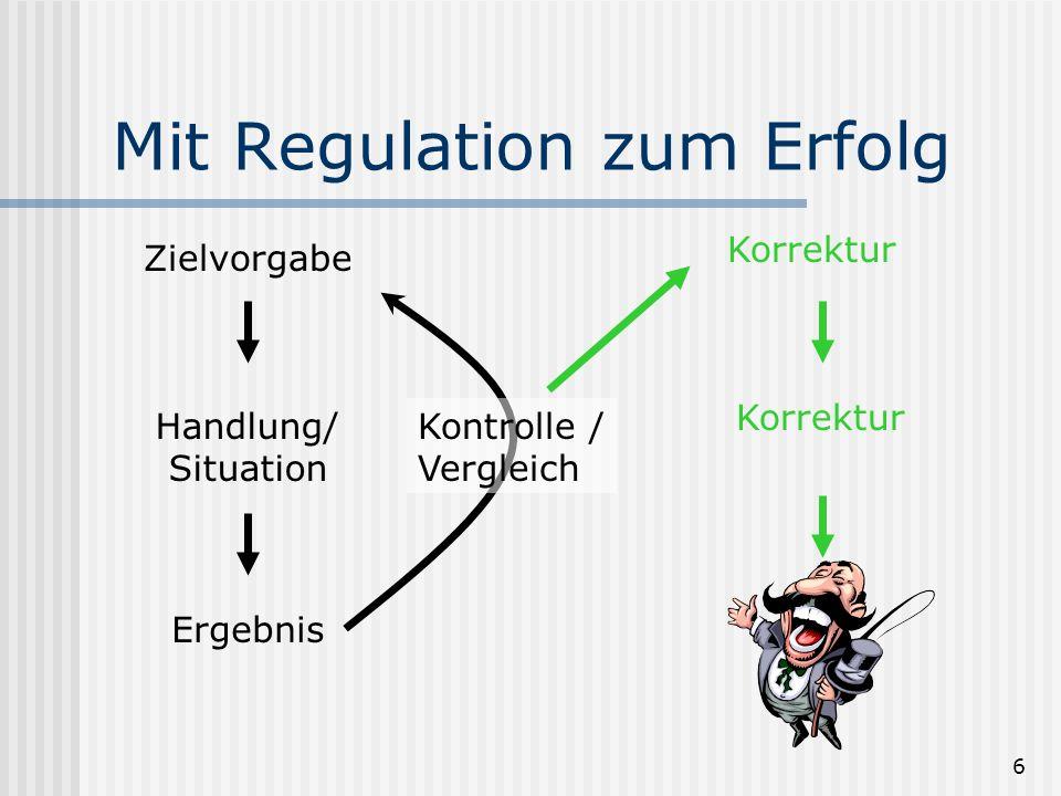 Mit Regulation zum Erfolg