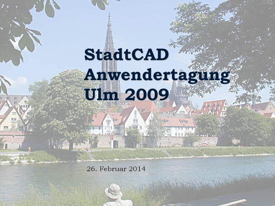 StadtCAD Anwendertagung Ulm 2009