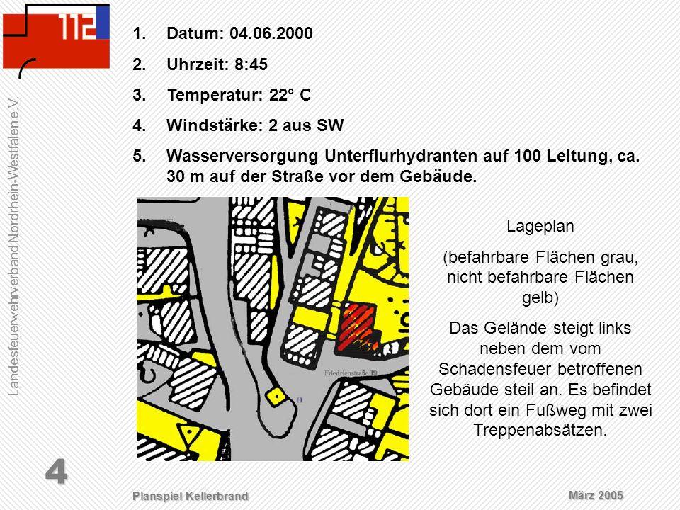 (befahrbare Flächen grau, nicht befahrbare Flächen gelb)