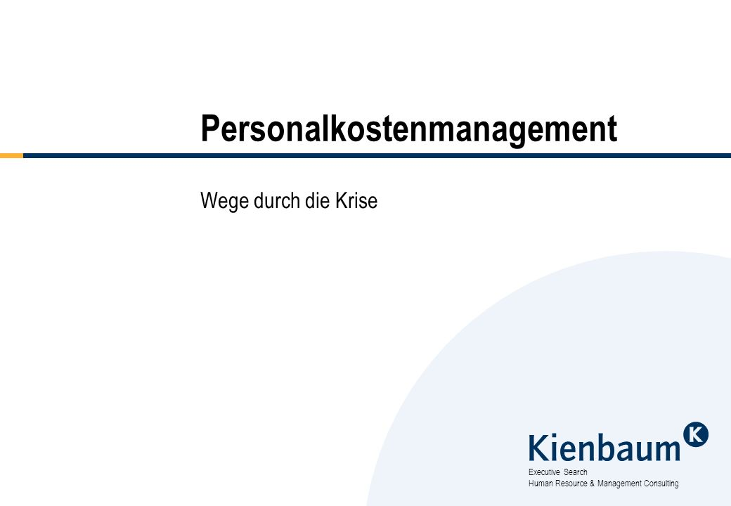Personalkostenmanagement