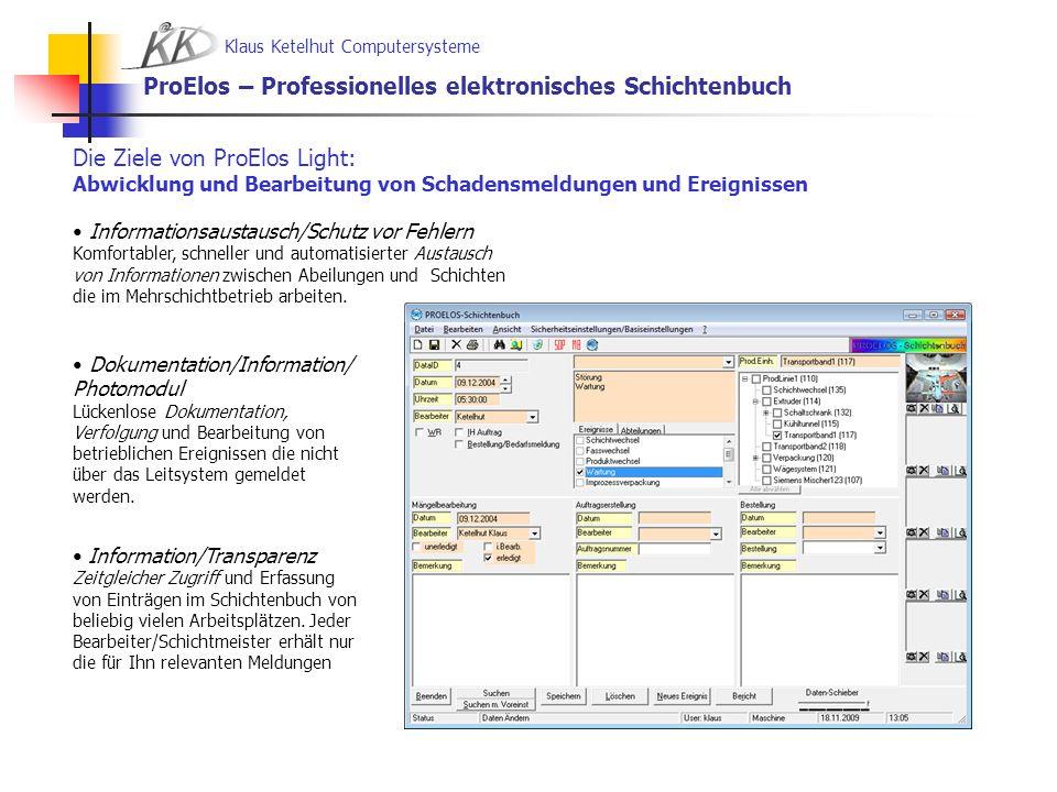 ProElos – Professionelles elektronisches Schichtenbuch