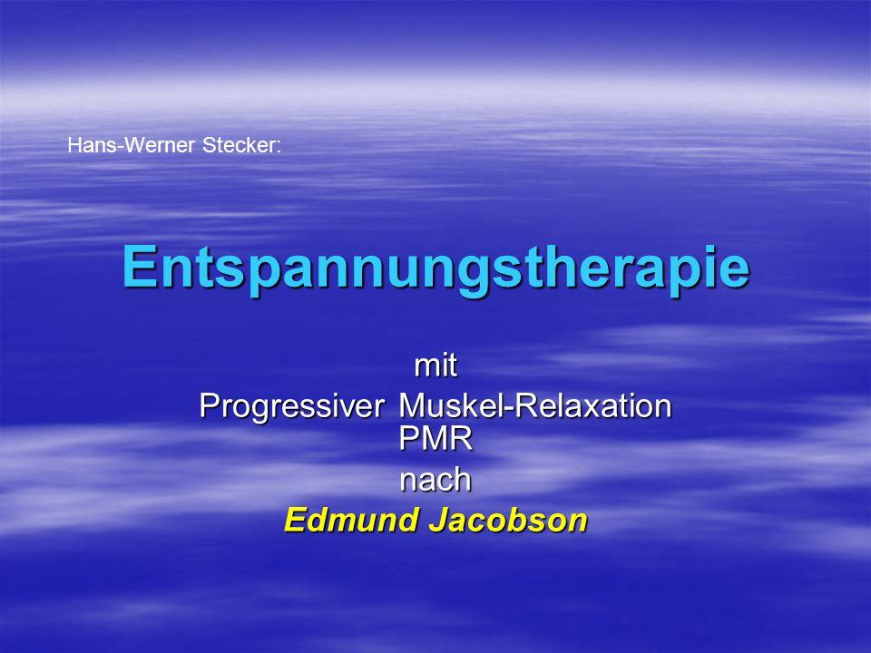 Entspannungstherapie