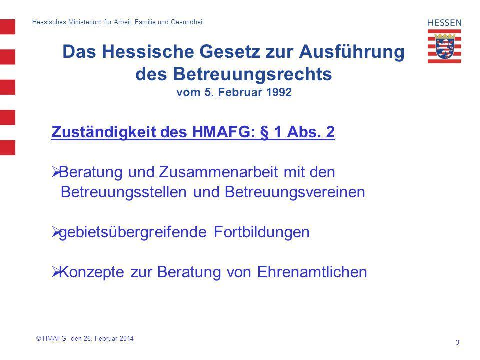 Hessisches Ministerium für Arbeit, Familie und Gesundheit