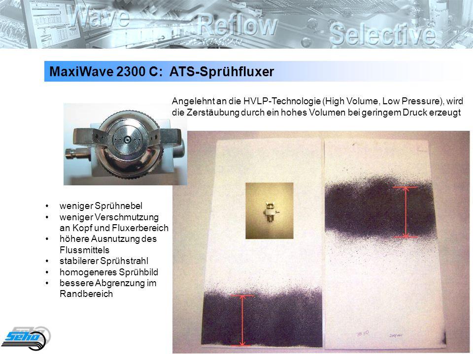 MaxiWave 2300 C: ATS-Sprühfluxer