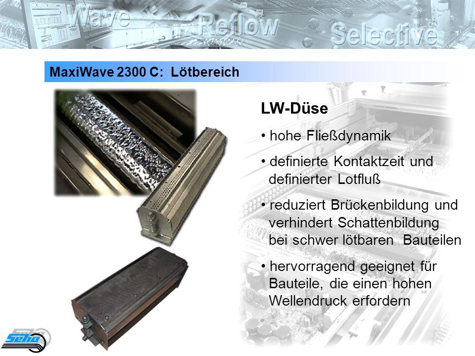 LW-Düse • hohe Fließdynamik