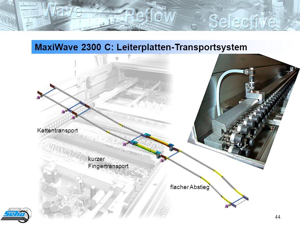 MaxiWave 2300 C: Leiterplatten-Transportsystem