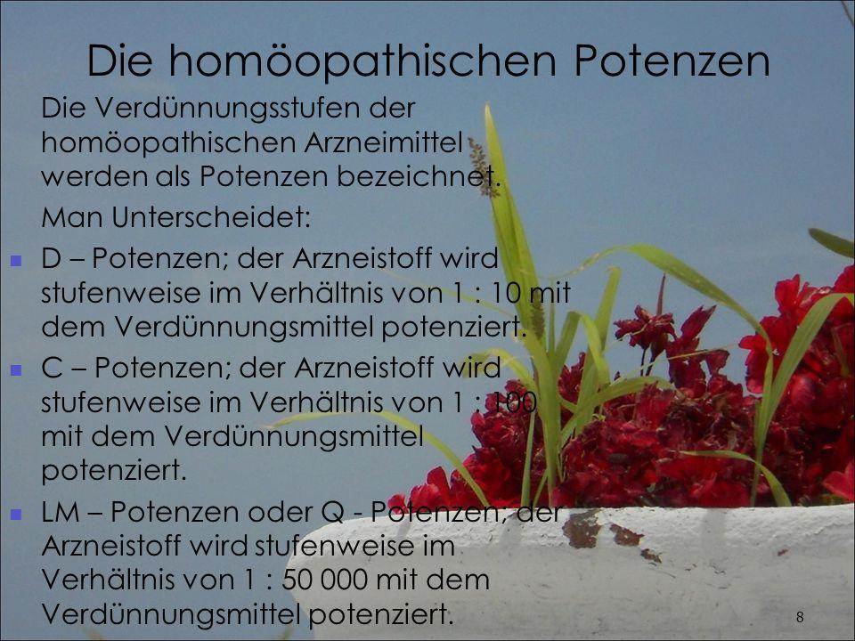 Die homöopathischen Potenzen