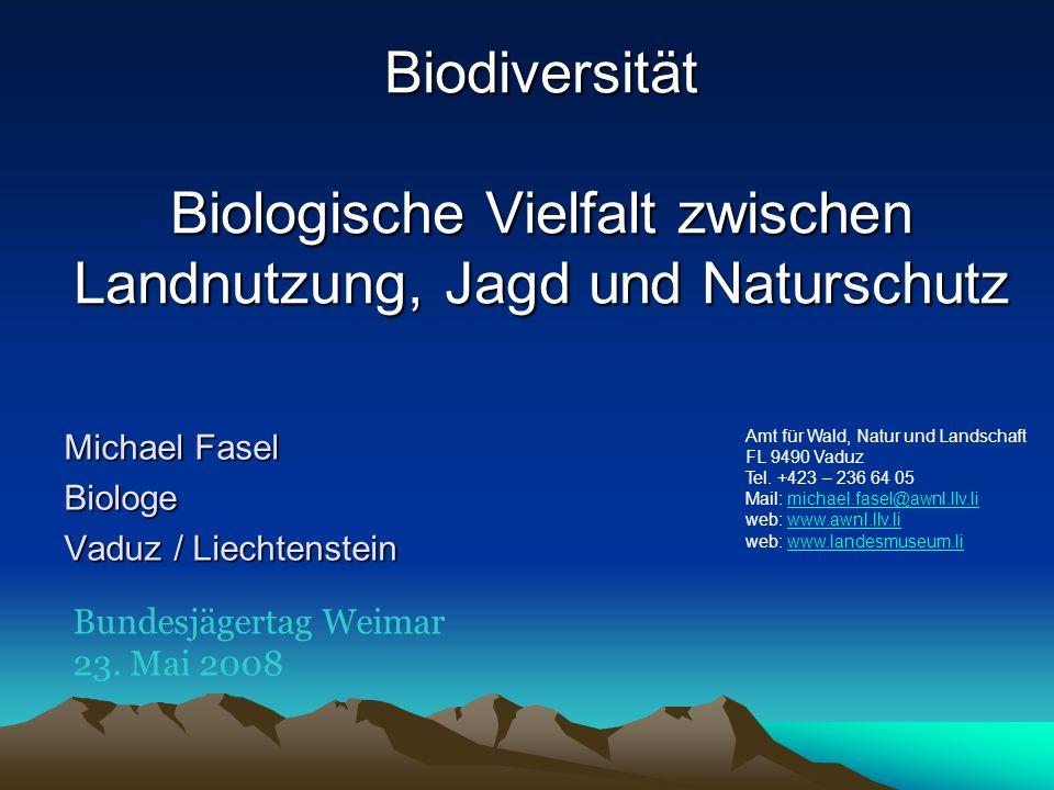 Michael Fasel Biologe Vaduz / Liechtenstein