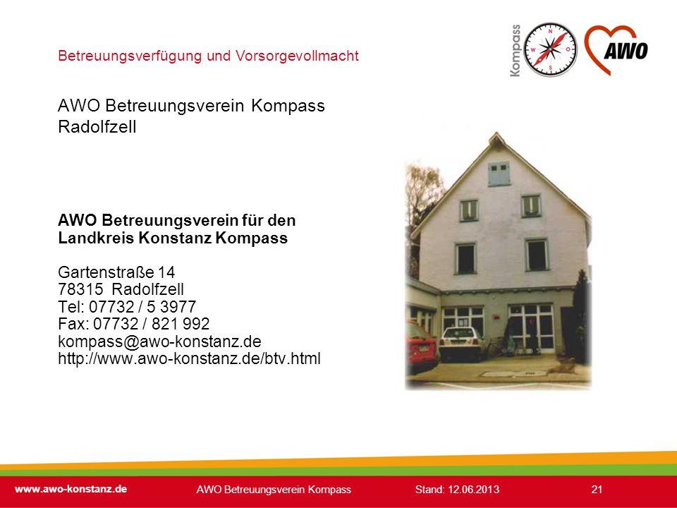 AWO Betreuungsverein Kompass Radolfzell