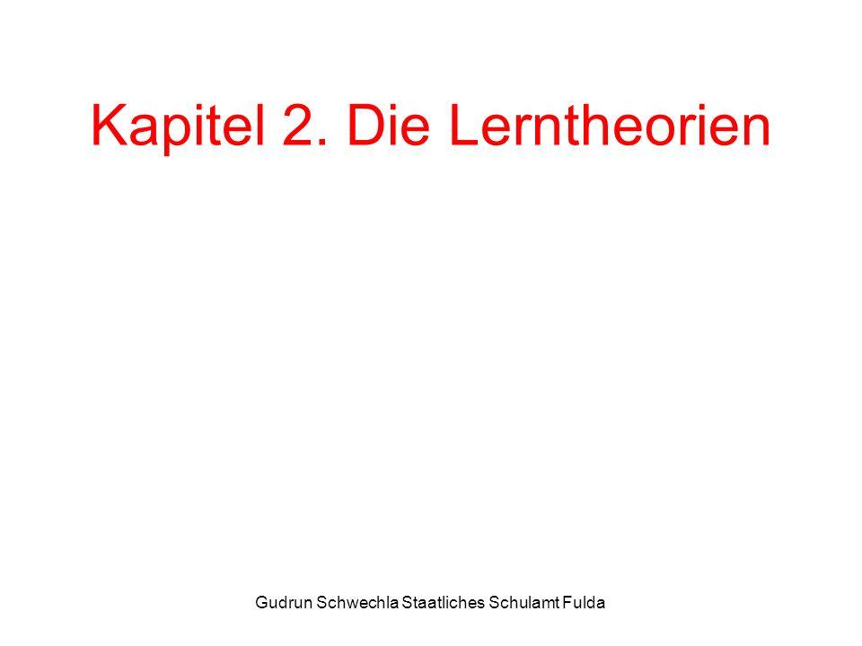 Kapitel 2. Die Lerntheorien