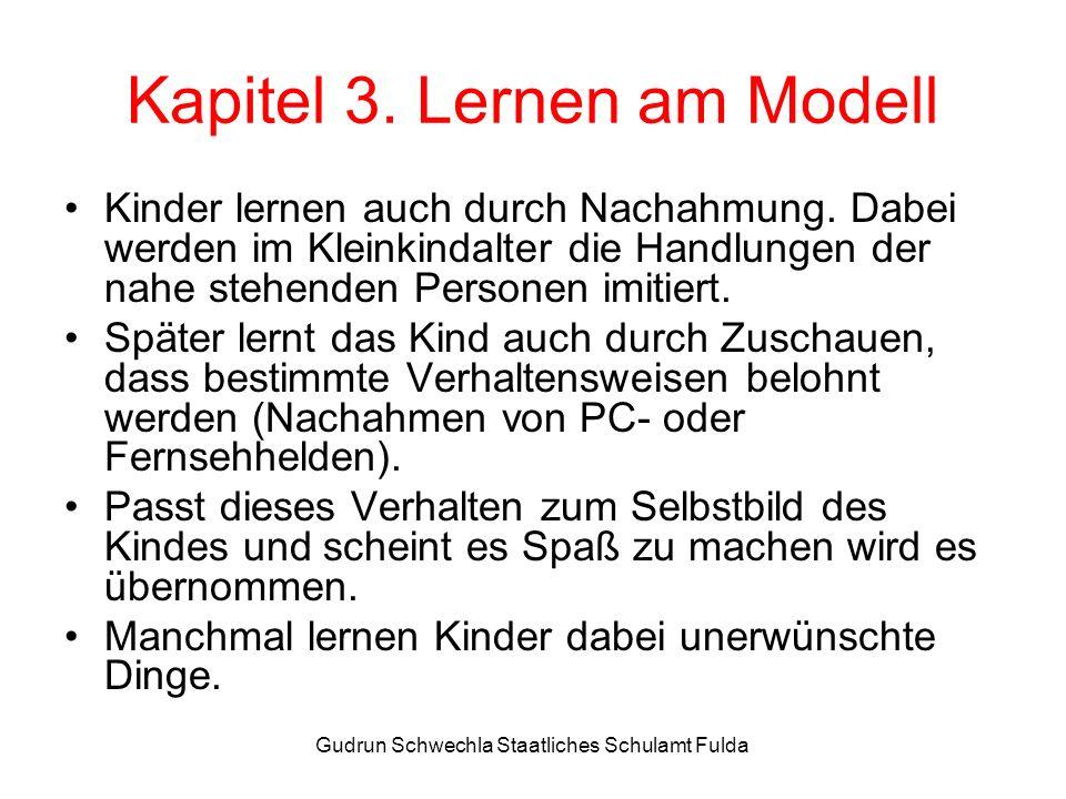 Kapitel 3. Lernen am Modell