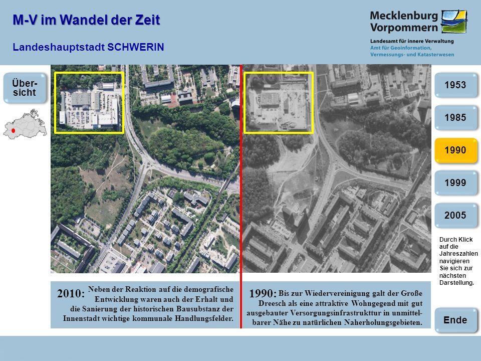 M-V im Wandel der Zeit Landeshauptstadt SCHWERIN