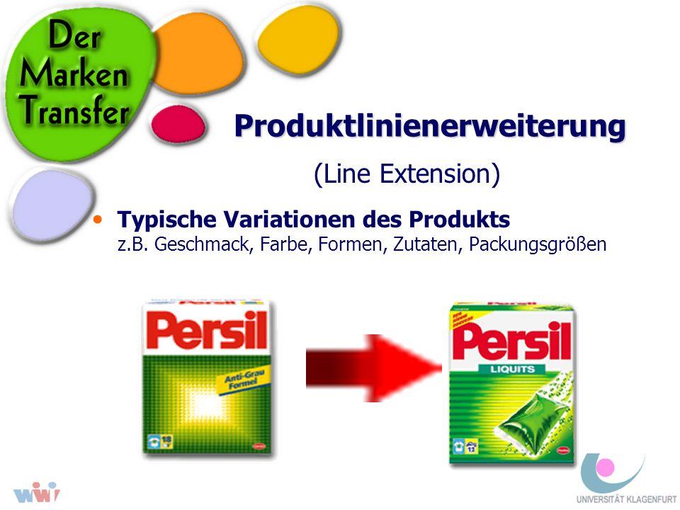 Produktlinienerweiterung